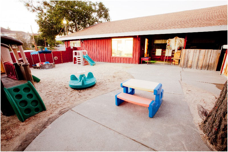 Toddler Outside Area